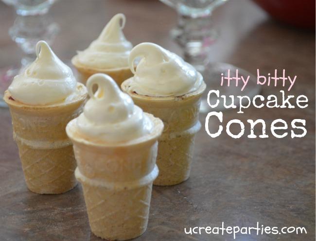 Itty Bitty Cupcake Cone Tutorial