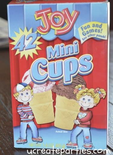 mini cups joy
