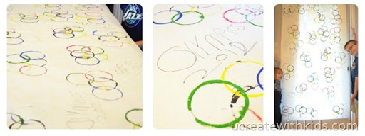 DIY Olympic RIngs