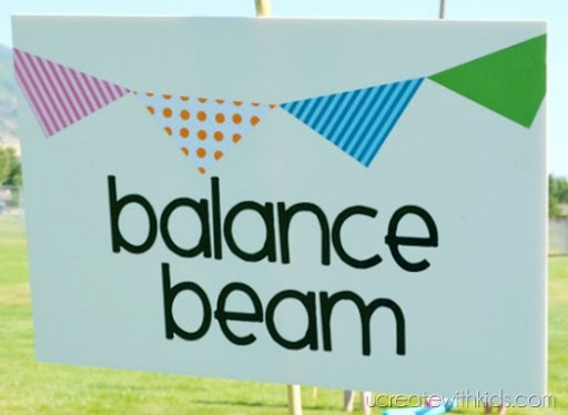 Balance Beam and other Olympic Games