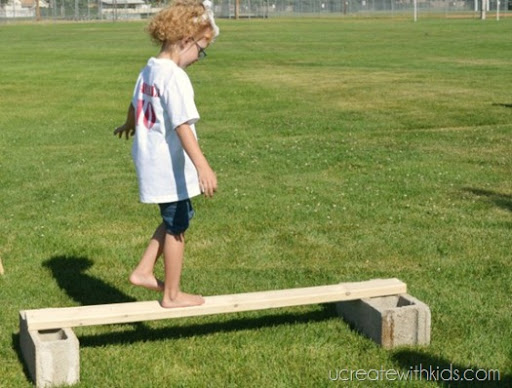 Olympic Games Balance Beam