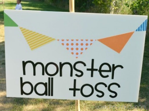 Monster Ball Toss and other Olympic Games