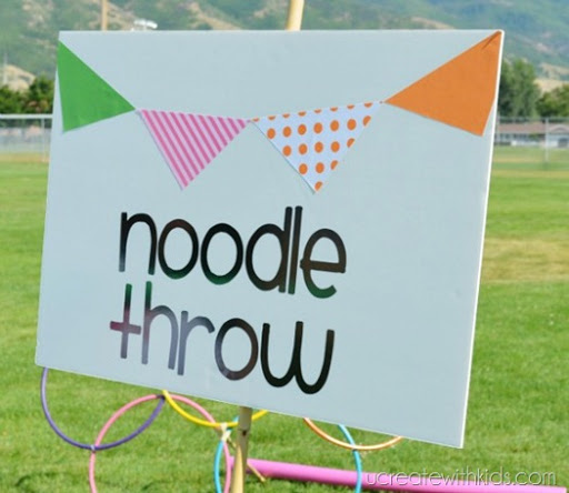 Noodle Throw and other Olympic Games