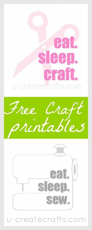 Free Craft Printables