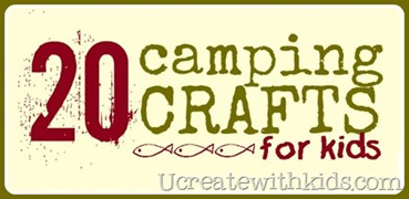 camping crafts roundup