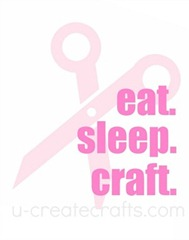 eat sleep craft