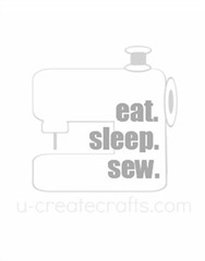 eat sleep sew