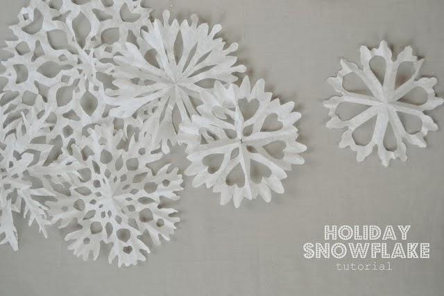 Cupcake Liner Snowflake Tutorial