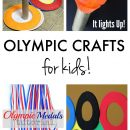 Tons of Olympic Crafts for Kids!