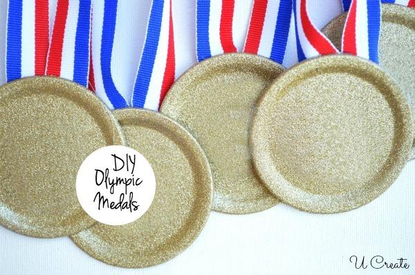 DIY Olympic Medals by U Create