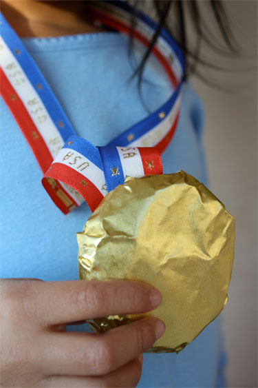 How to Make Olympic Medal Cookies