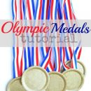 Olympic Medals Tutorial by U Create