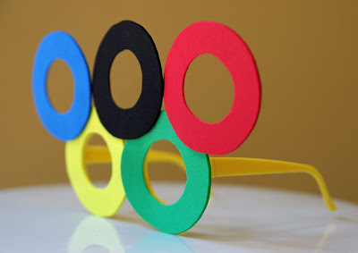 Olympic Ring Glasses Tutorial