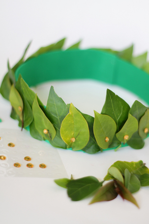 DIY Olympic Wreath Crown