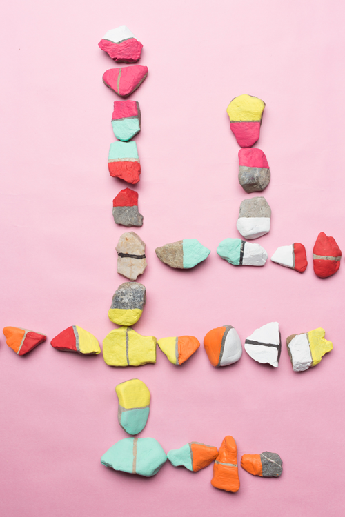 DIY Rock Dominos - 20 Camping Craft for Kids