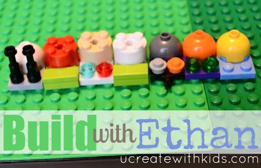 How to Make a Lego Snail