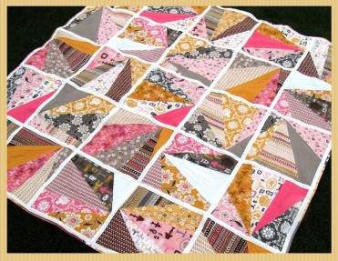 Refracted Quilt Tutorial by Happy Quilting