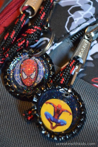 Rockin' Awesome Spiderman Zipper Pull