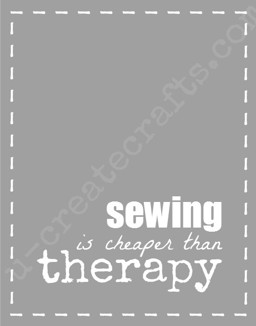Sewing is Cheaper... free print