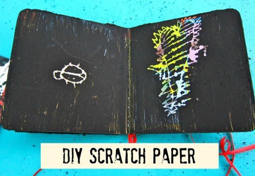 DIY Scratch Paper