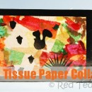 Fall Tissue Paper Kids Craft by Red Ted Art