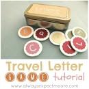 Travel Letter Game Tutorial