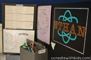 Tri-fold Homework Station12