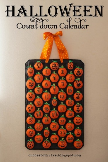 Halloween Advent Calendar Tutorial