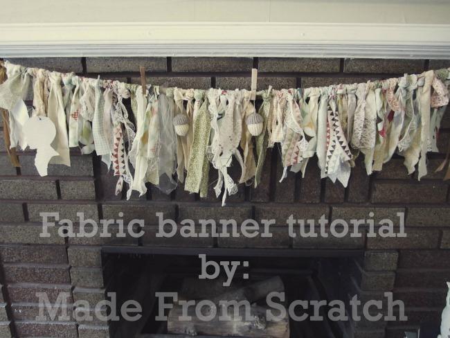 Fabric Banner Tutorial