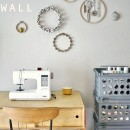 Sewing Notions Wall by Yellow Spool