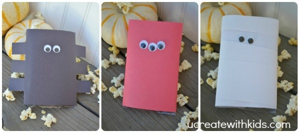 Halloween Popcorn Party Favors