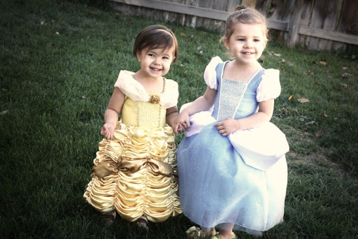 DIY Princess Costumes