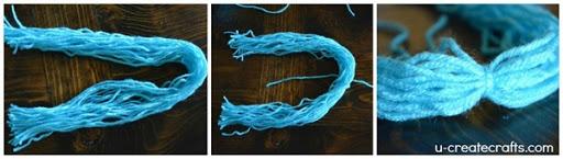 DIY Yarn Wig Tutorial 4a