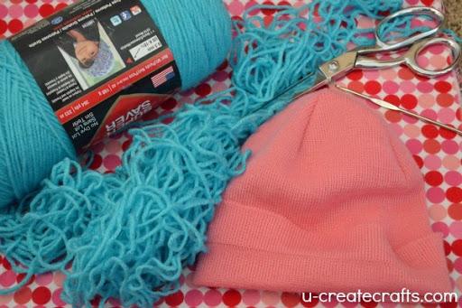 DIY Yarn Wig Tutorial Supply List 1
