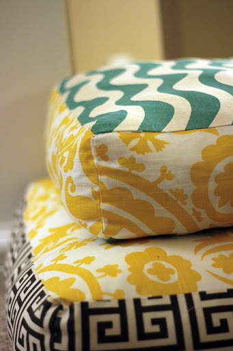 How to Make Giant Floor Pillows