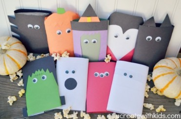 Halloween Popcorn Party Favors