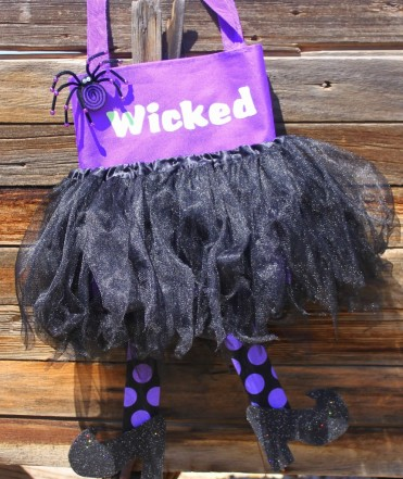 Witch Halloween Bag Tutorial