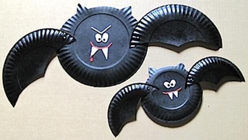 Halloween Vampire Paper Plates