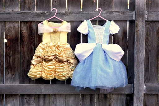 Belle And Cinderella Costumes Free Pattern U Create