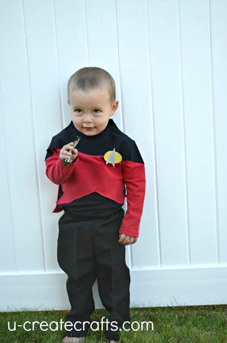 Baby Star Trek Costume 10