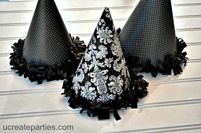 party favor witch hat cones free template u create