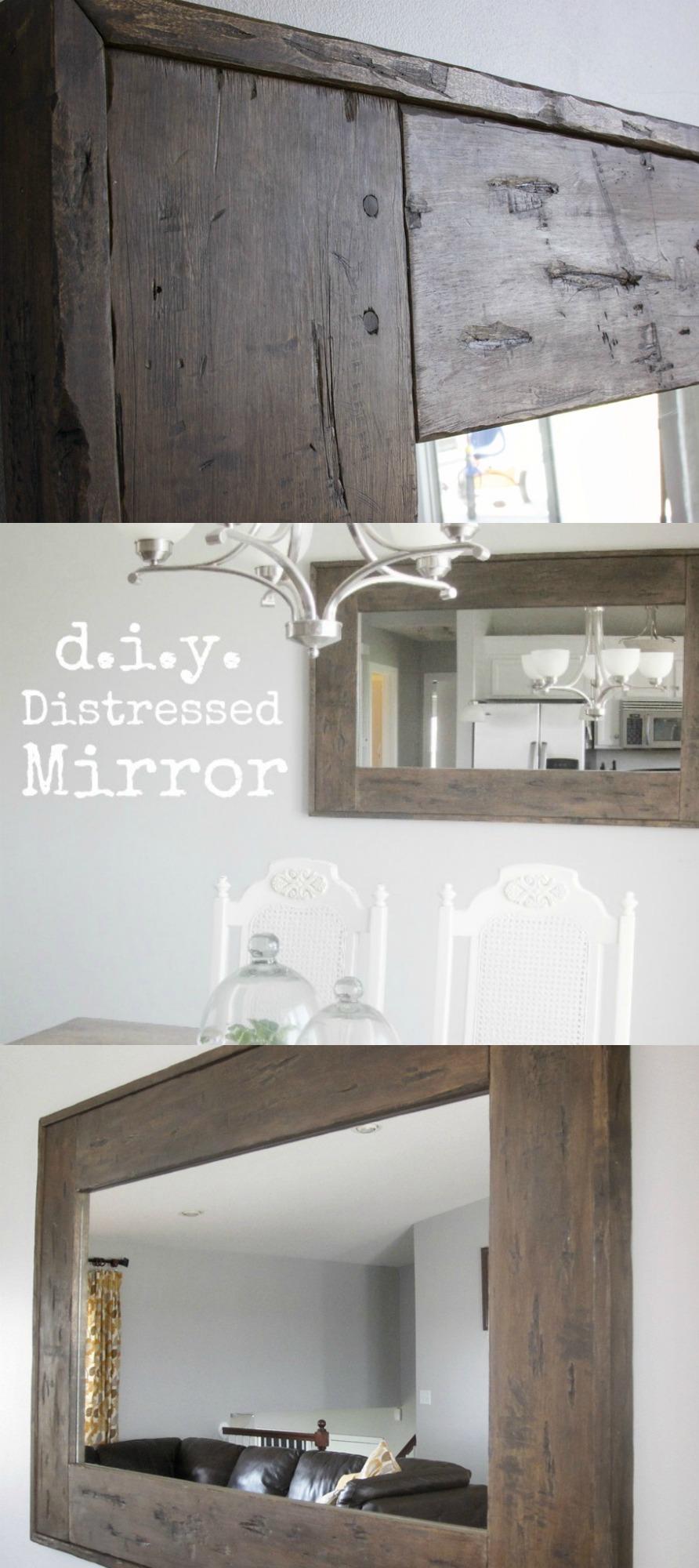 Distressed Mirror Tutorial