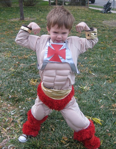 How to Make Muscle Costume
