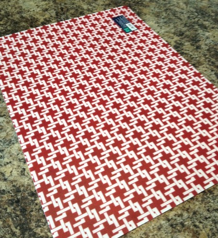placemats into fridge coasters tutorial