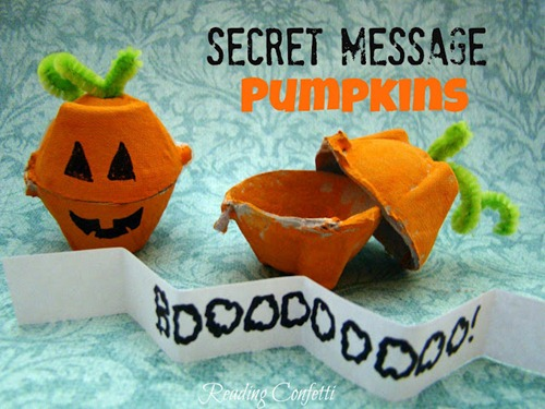 DIY Secret Message Pumpkins