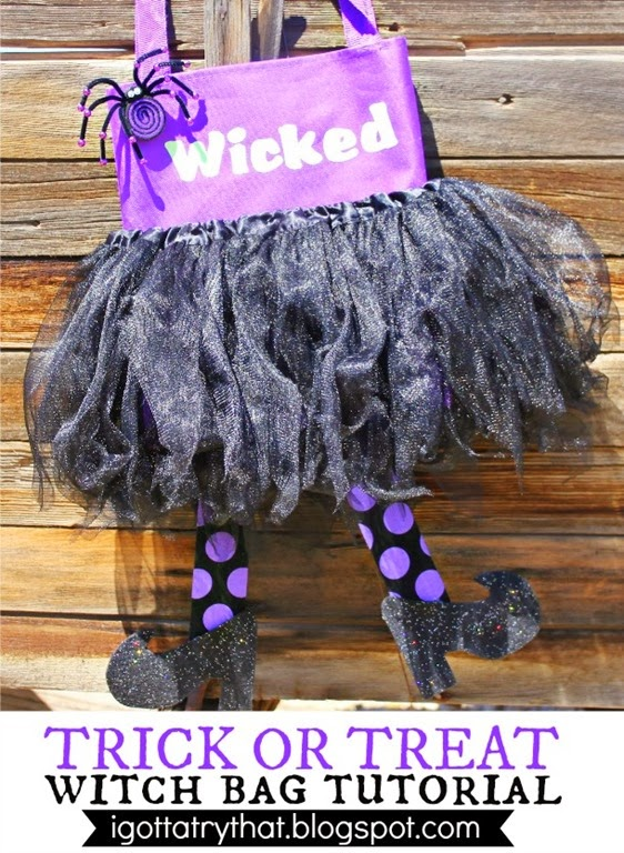Trick or Treat Witch Bag by I Gotta Try That