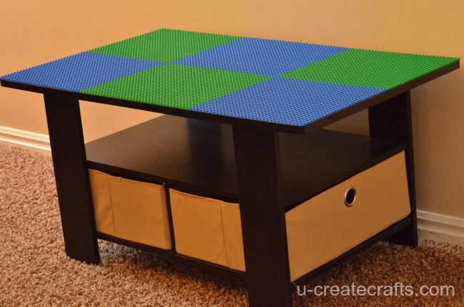 Turn A Coffee Table Into LEGO U Create