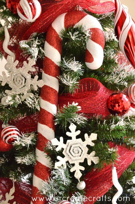 giant candy cane ornaments at ucreate - Candy Cane Christmas Tree Decorations