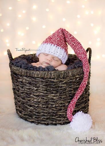 Stocking Hat Crochet Pattern