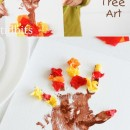 Tissue Paper Tree Art Kids Craft